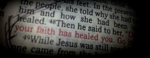Luke 8:48