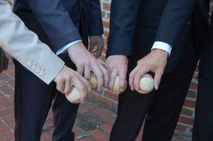 The hands we held