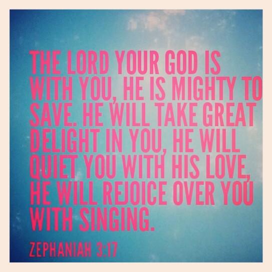We sing, God sings