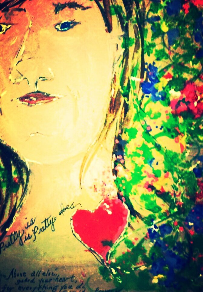 Pretty is, pretty does...Art and words