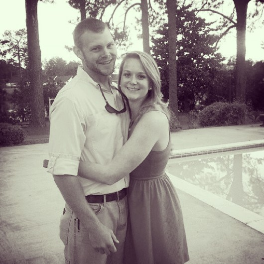 The future Mr. and Mrs. Benji Brown